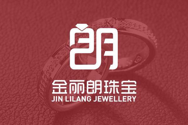 金丽朗珠宝logo商标标志设计